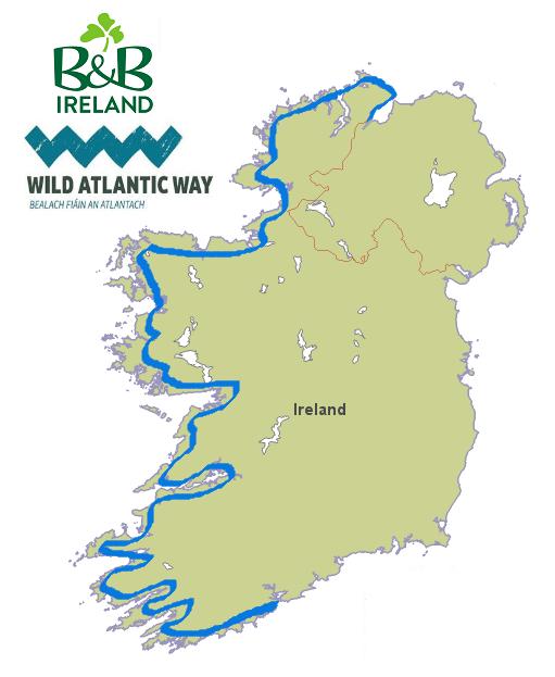 Detailed Map Of Ireland Pdf.Location Map Greenhill B B